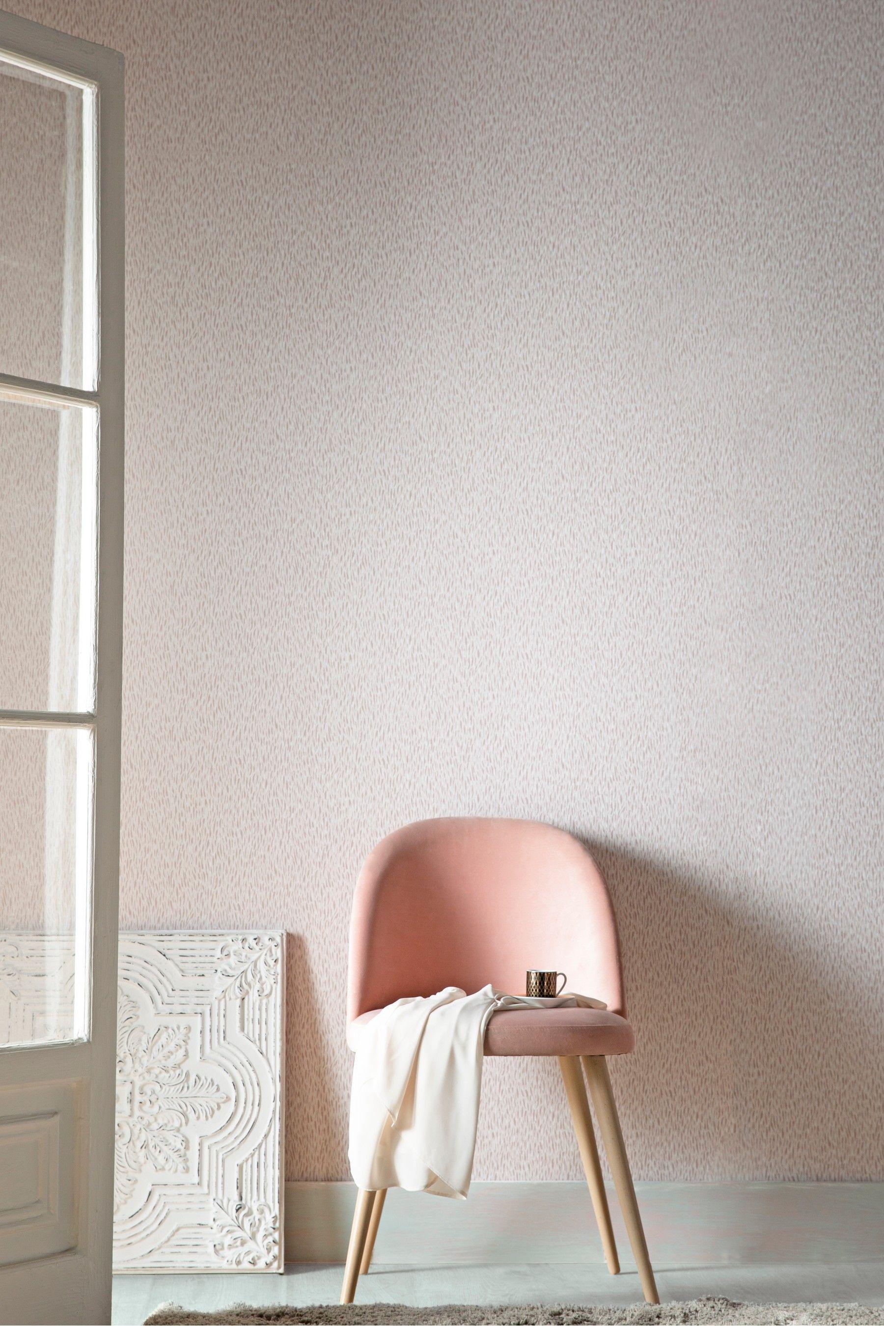 Next Paste The Wall Faux Fur Wallpaper Pink Wall Wallpaper