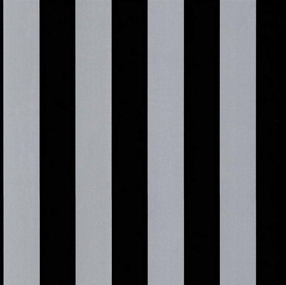 Black and Metallic Silver 2 5  Stripe Wallpaper  Masculine, Man Cave  By The Yard  BK32065 is part of Silver Home Accents Guest Rooms - Sold By The Yard  Black and Metallic Silver 2 5  Stripe Wallpaper  Masculine, Man Cave   BK32065 0) Pattern Number BK32065 0) One Yard Dimensions 20 5  x 36  0) Solid Vinyl 0) PrePasted 0) Stripe Approximately 2 5  0) Please Note This is a metallic Pattern >>> We do our very best to depict color and detail accurately  However; due to differences in computer monitors, there may be slight variations in the digital color  Samples are available for purchase in the  Sample Options  Section of our shop >>> If multiple yards are purchased from the same pattern, you will receive one, continuous piece that is the length of the total number of yards purchased up to 11 yard increments  Every 11 yards starts a new piece