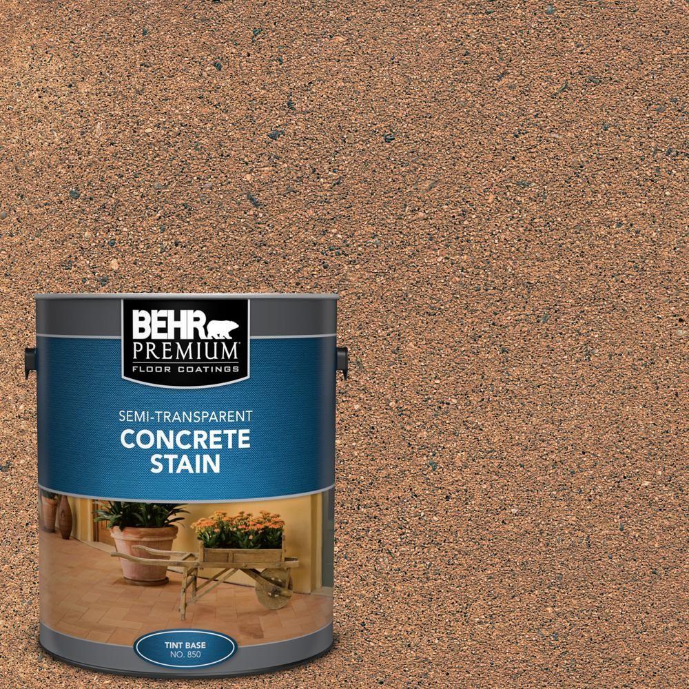 Behr Premium 1 Gal Stc 12 Sunbaked Clay Semi Transparent Flat