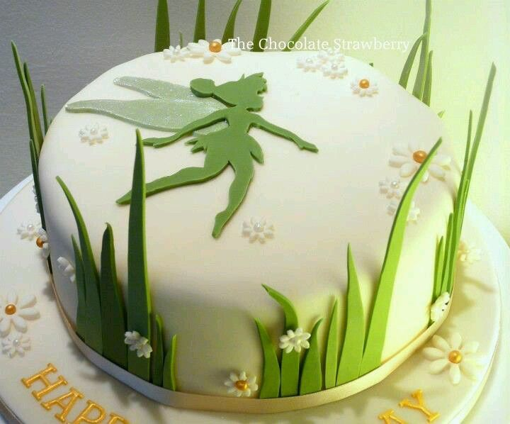 Tinkerbell Acrylic Cake Topper