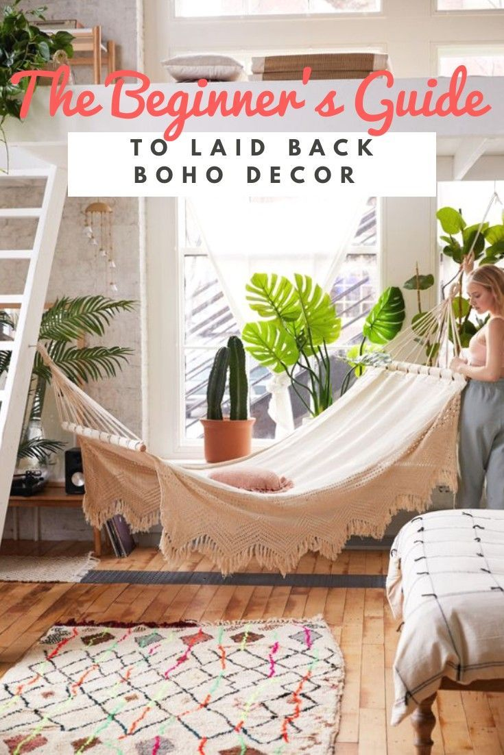 The Beginner's Guide To Laid Back Boho Decor | Room decor ...