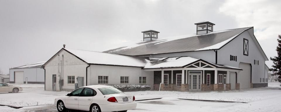 Farm Building Profile Use: Insulated farm shop with cold storage ...