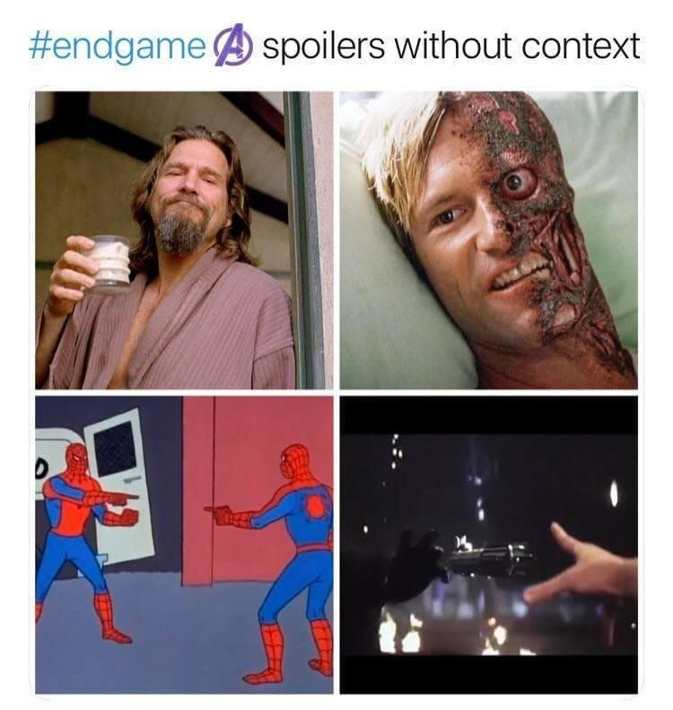 Avengers Endgame Without Context Funny Pictures Humor Funny