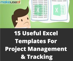Useful Excel Templates For Project Management Tracking - Program management tools and templates