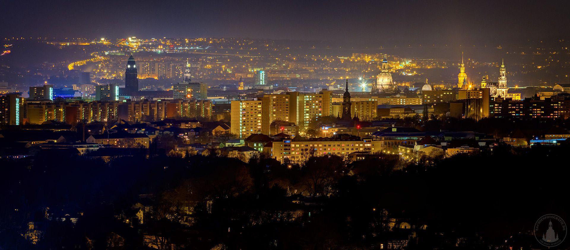 Über den Dächern von Dresden