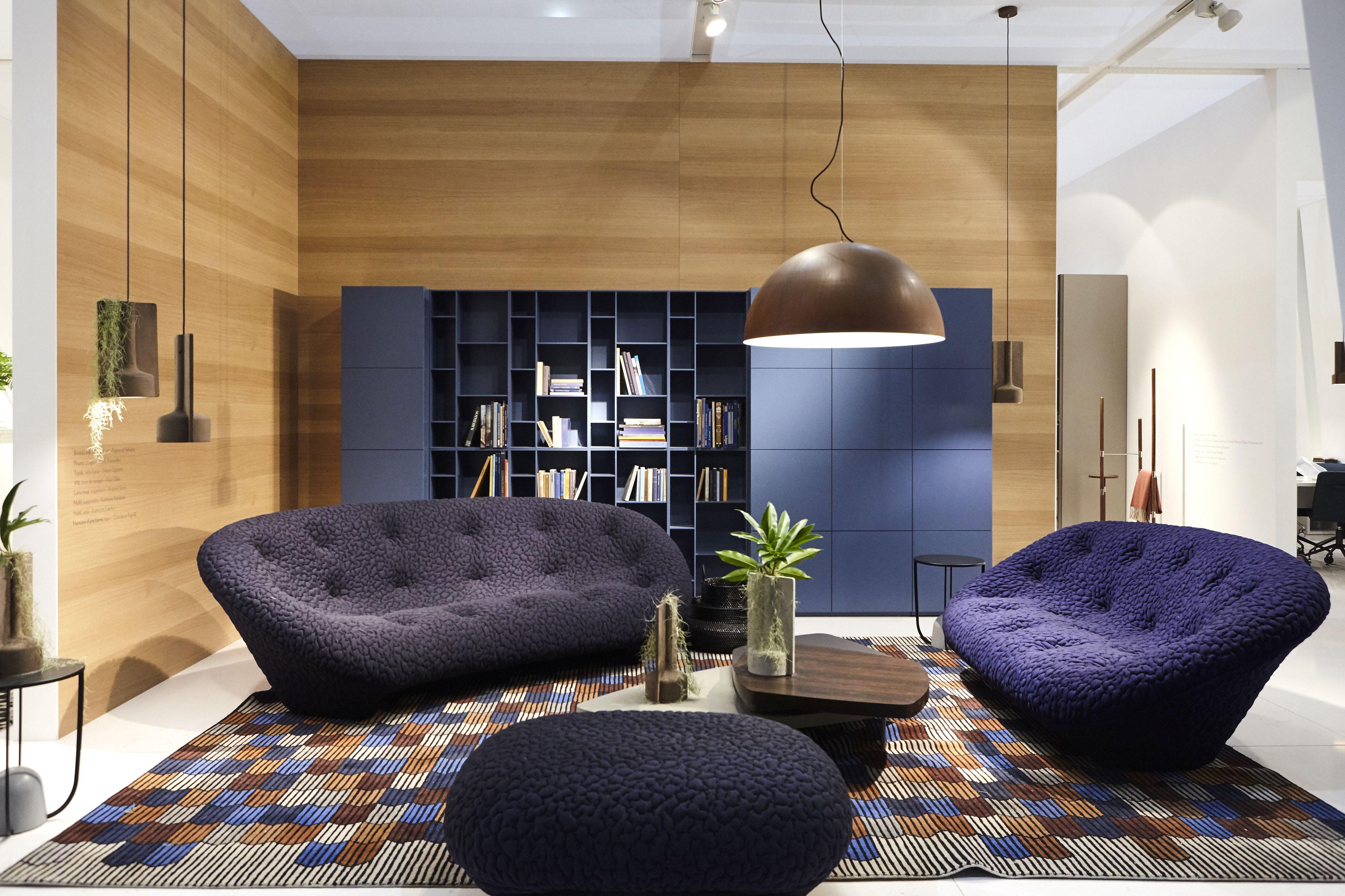 Ploum settee, by Ronan & Erwan Bouroullec  Idées de décoration de