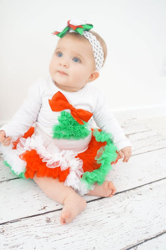 Girls Christmas Dress Baby Christmas Dress-SALE by PoshPeanutKids ...