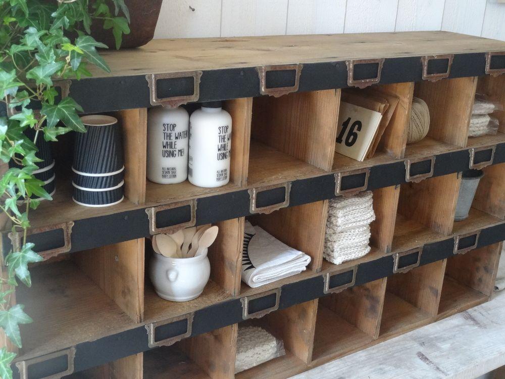 Ancienne tag re de quincaillerie deco pinterest - Quincaillerie ancienne meuble ...