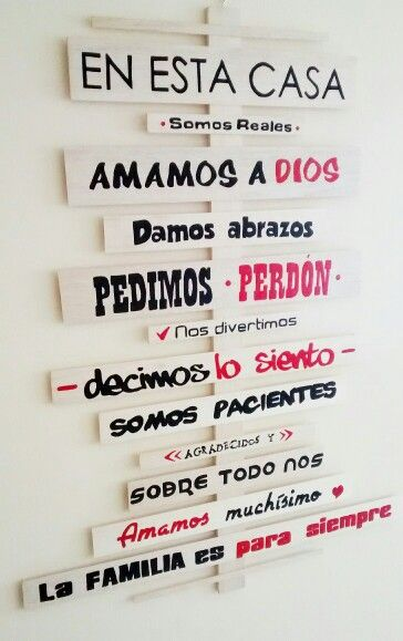 Decoracion Hogar Frases Frases Pared Decoracion Familia