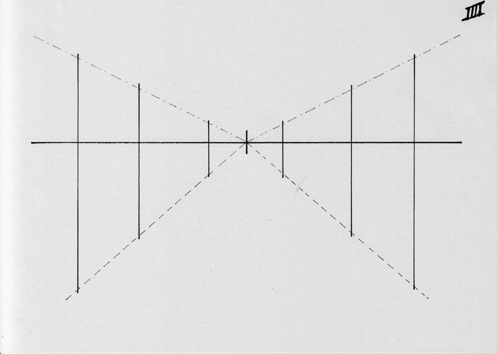 2 Fluchtlinien und schematische Bäume | Malen | Pinterest | Baum ...