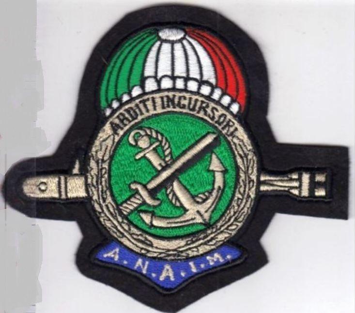 Airborne SCUBA Italy Navy Commando Association Italia Marina Associazione Nazionale Arditi Incursori