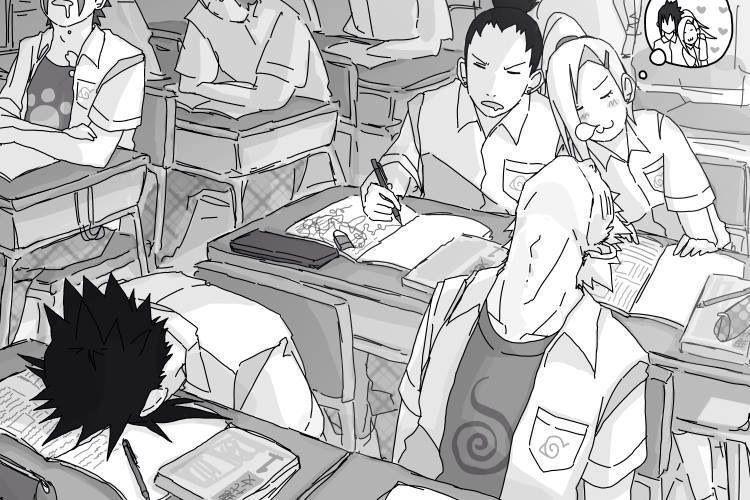 Naruto, school