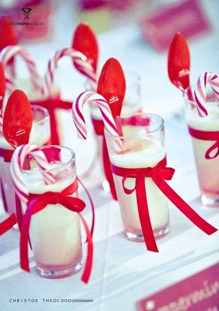 Drinks at a Christmas party Holiday ideas Pinterest Holidays