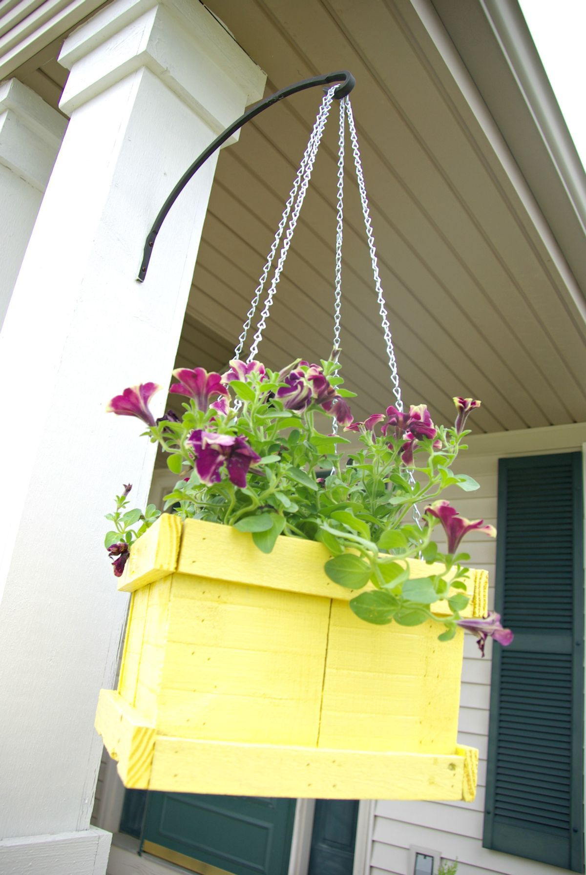 Idee Per Vasi Da Fiori realizzare un vaso di fiori con i bancali! 20 bellissime