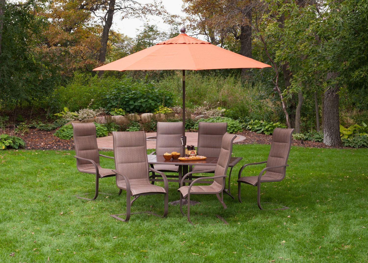 Scottsdale 7 Piece Patio Dining Set With Images Patio Design