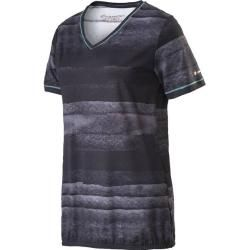 Photo of Energetics Ladies T-ShirtCass, size 50 in black / gray / turquoise, size 50 in black / gray / turquoise Energ