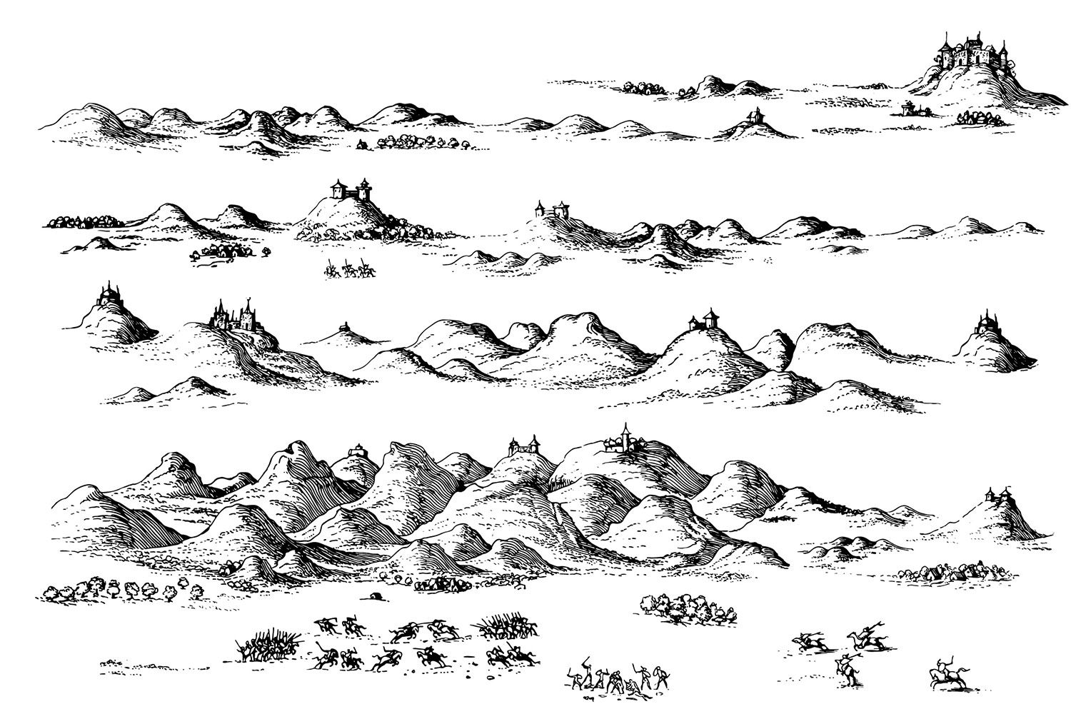 Fantasy Map Icons Symbols Map Cartography Create Your Own Roleplaying Game Material W Rpg Bard Www Rpgbard Com Map Symbols Fantasy Map Fantasy World Map