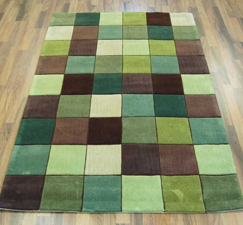 Superb Eden   ED 10 Pixel Green / Brown Rugs | Modern Rugs
