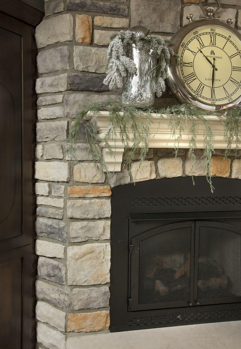 kentucky gray limestone on this gorgeous fireplace fireplace