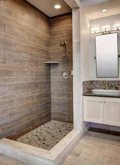 Azulejos Piedras Baño | Aseo/wc en 2019 | Cuarto de baño, Baños ...