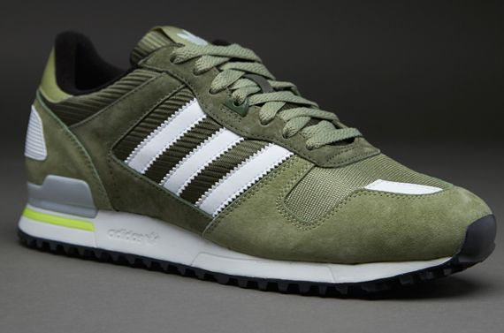 adidas Originals ZX700 - Mens Select Footwear - St Tent Green-Running White- St