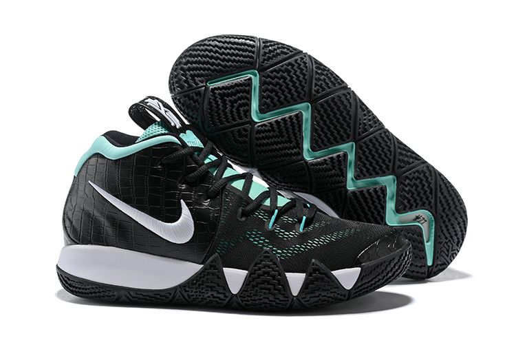 "253af417323 Nike Kyrie 4 ""Tiffany"" Tropical Twist Metallic Silver-White-Gold AA2897-390"