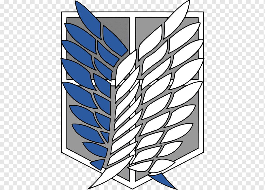 A O T Wings Of Freedom Attack On Titan Anime Scouting Scout Angle Emblem Leaf Png Pngwing Attack On Titan Symbol Attack On Titan Attack On Titan Anime