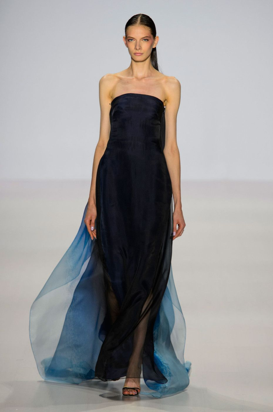 47 photos of Pamella Roland at New York Fashion Week Spring 2015.