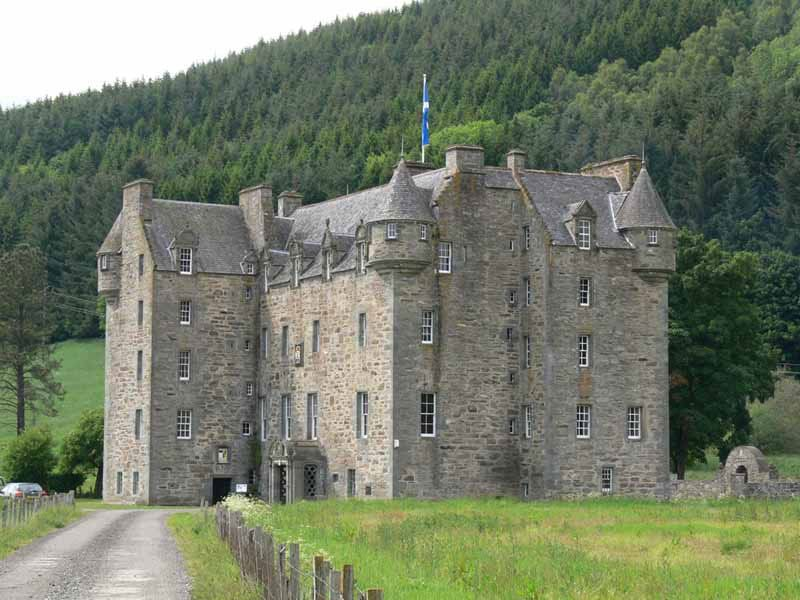 Castle Menzies, ancient home of the Clan Menzies Chiefs