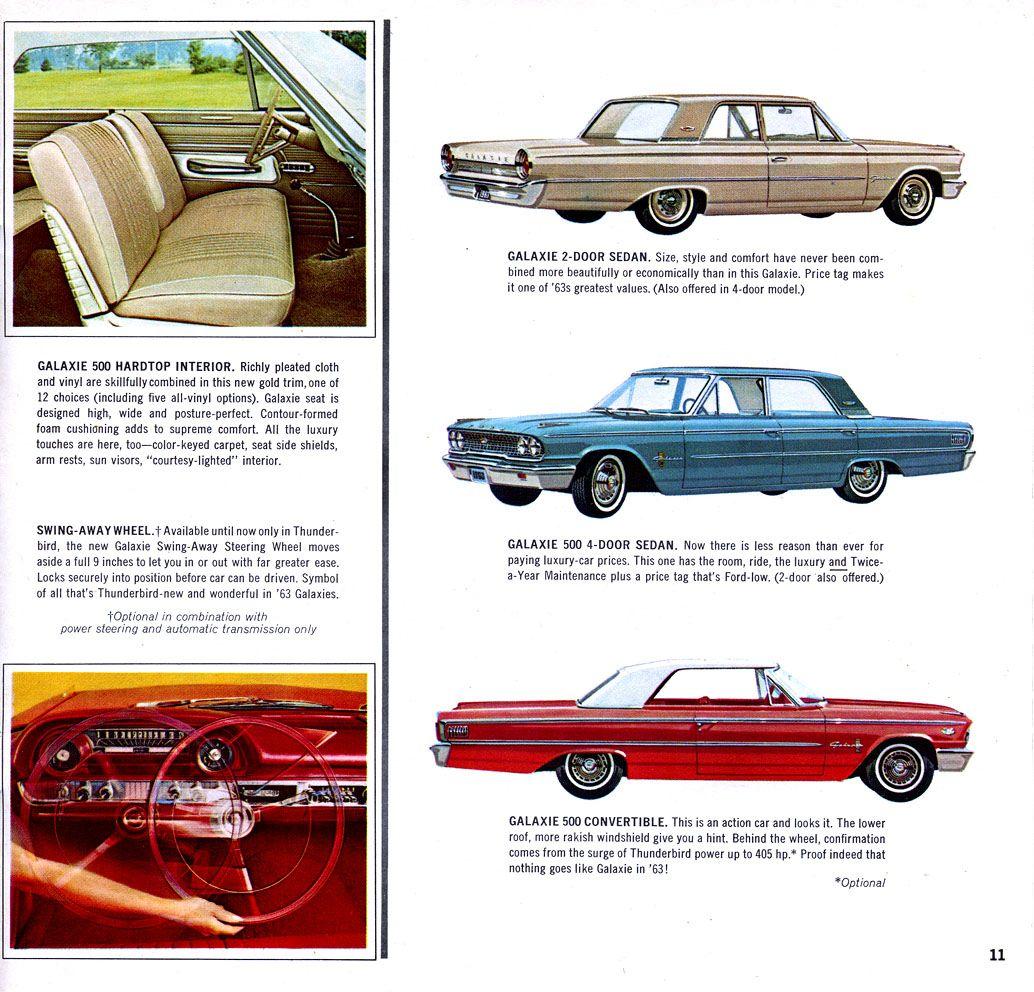 10 Jpg 1 034 992 Pixels 1963 Ford Galaxies Ford Galaxie Car Ads Ford Emblem