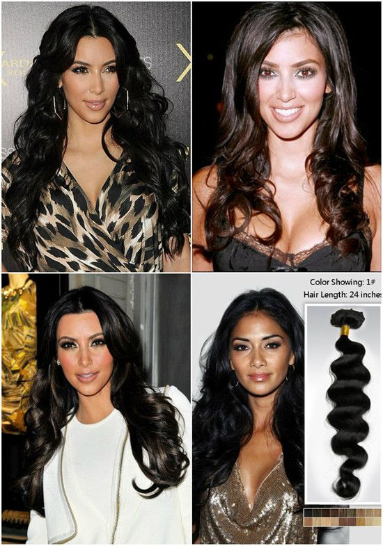 Celebrities Looks Kim Kardashian Best Hair Styles 2014 With Remy