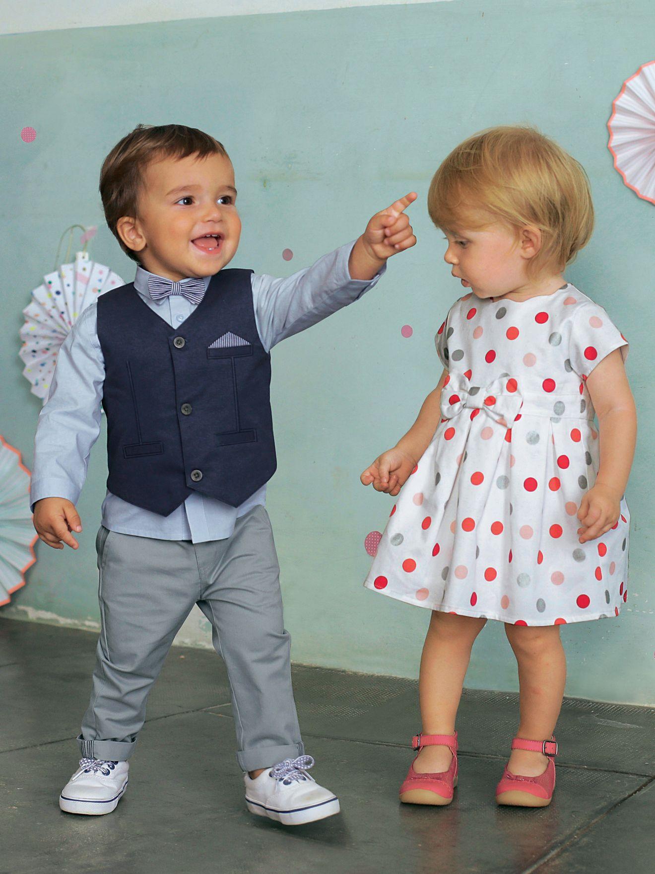 baby jungen, festliches anzug-set, 4 teile von vertbaudet in