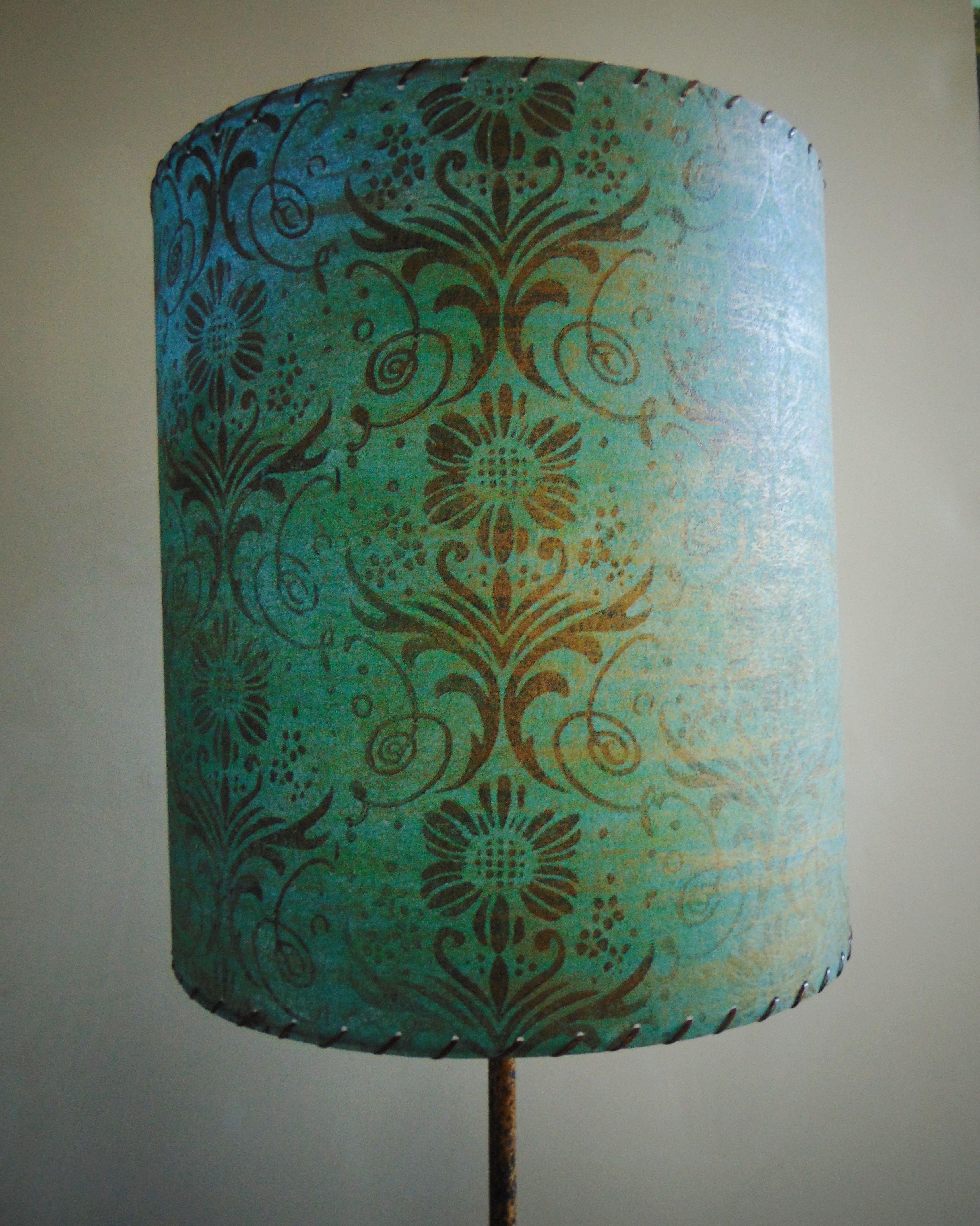 Fiberglass lamp shade mid century lamp shades pinterest mid fiberglass lamp shade aloadofball Images