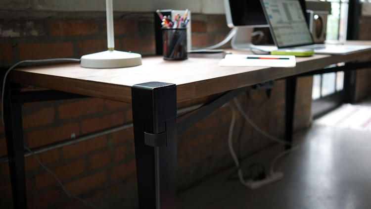 1 | Choose Your Own Dinner Table With Floyd's Utility Legs | Co.Design | business + design