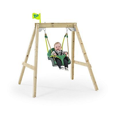 TP Forest Acorn Growable Swing Frame with Early Fun Baby Swing Seat ...