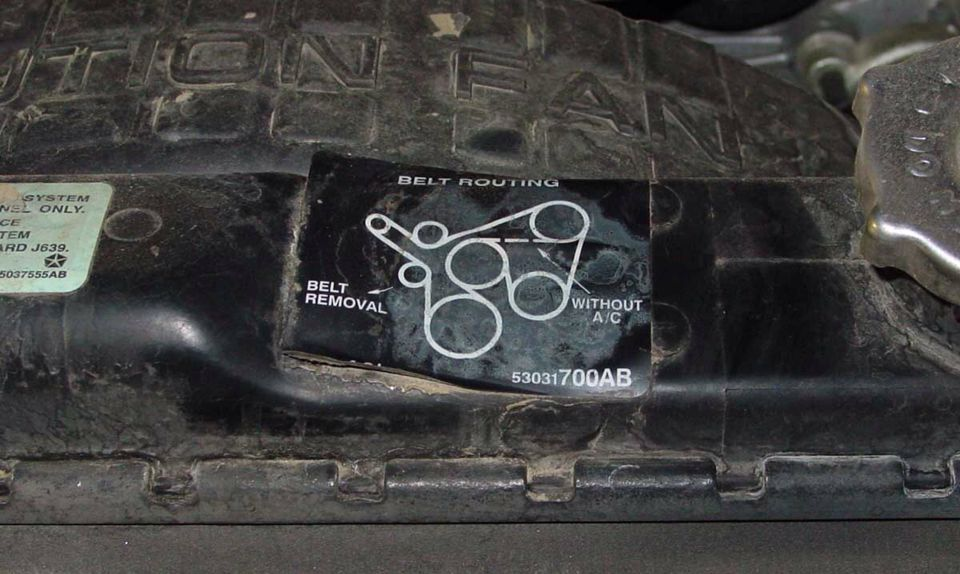 4 0l Jeep Belt