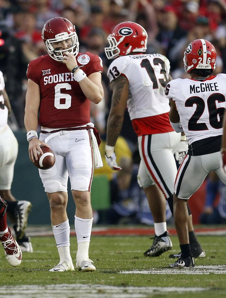 Rose Bowl OU vs. Georgia - Photo Gallery (With images ...