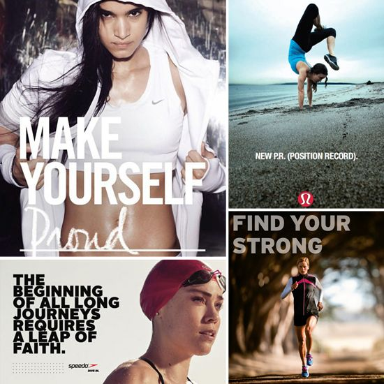 Good Advertising Works: 20 Motivational Ads That Get Us to the Gym