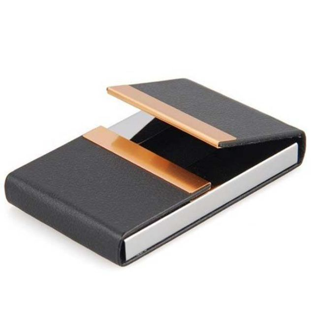Leather Business Card Holder For Men Cards Designs Ideas High Quality Business Cards Custom Business Card Holder Business Card Case