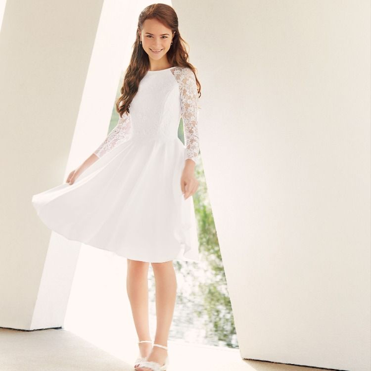 Blonder med hvide kjoler Kjoler