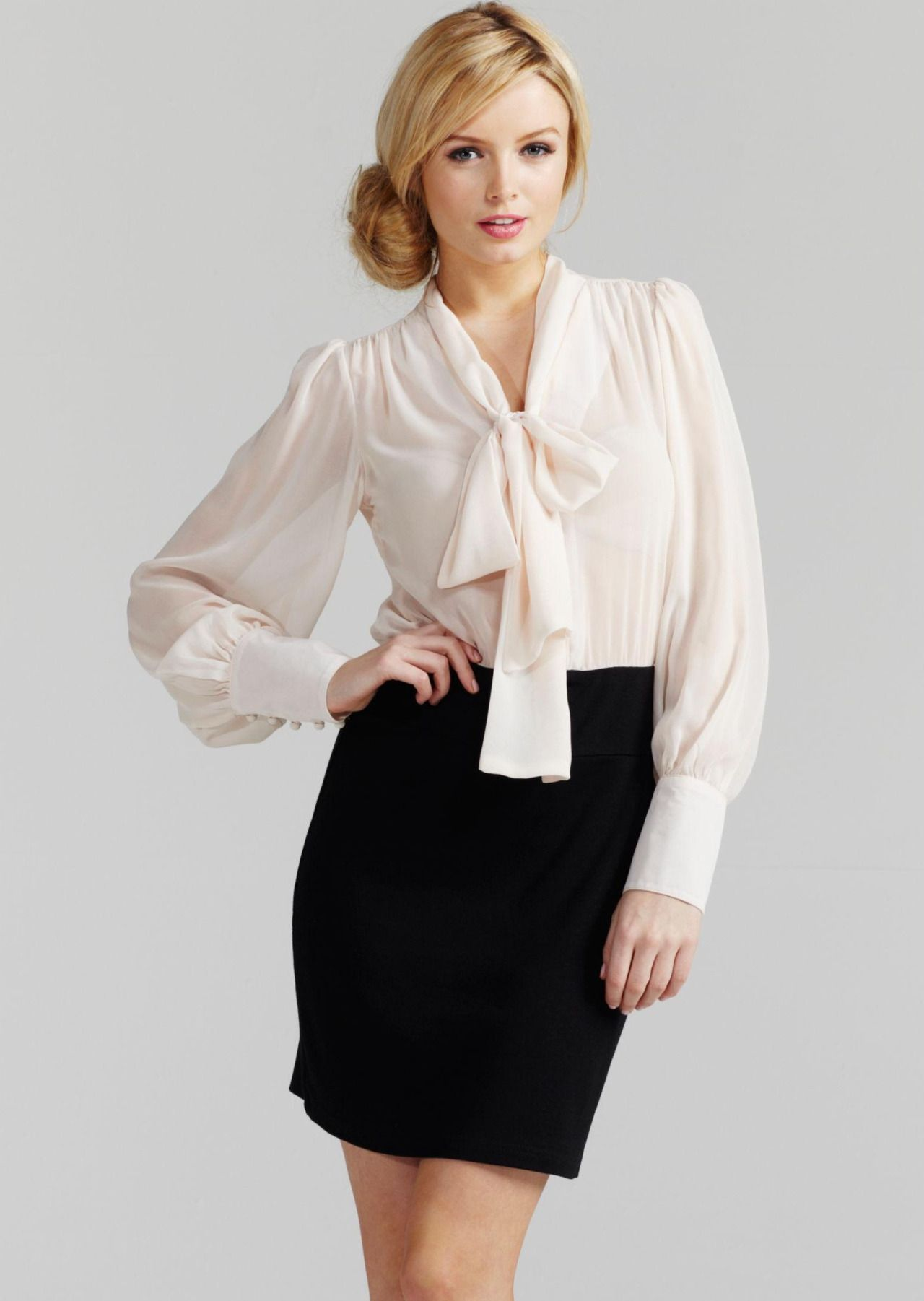 Sexy blouse and skirt
