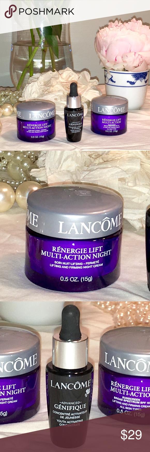 Lancôme Renergie & Genifique antiaging kit NWT Anti
