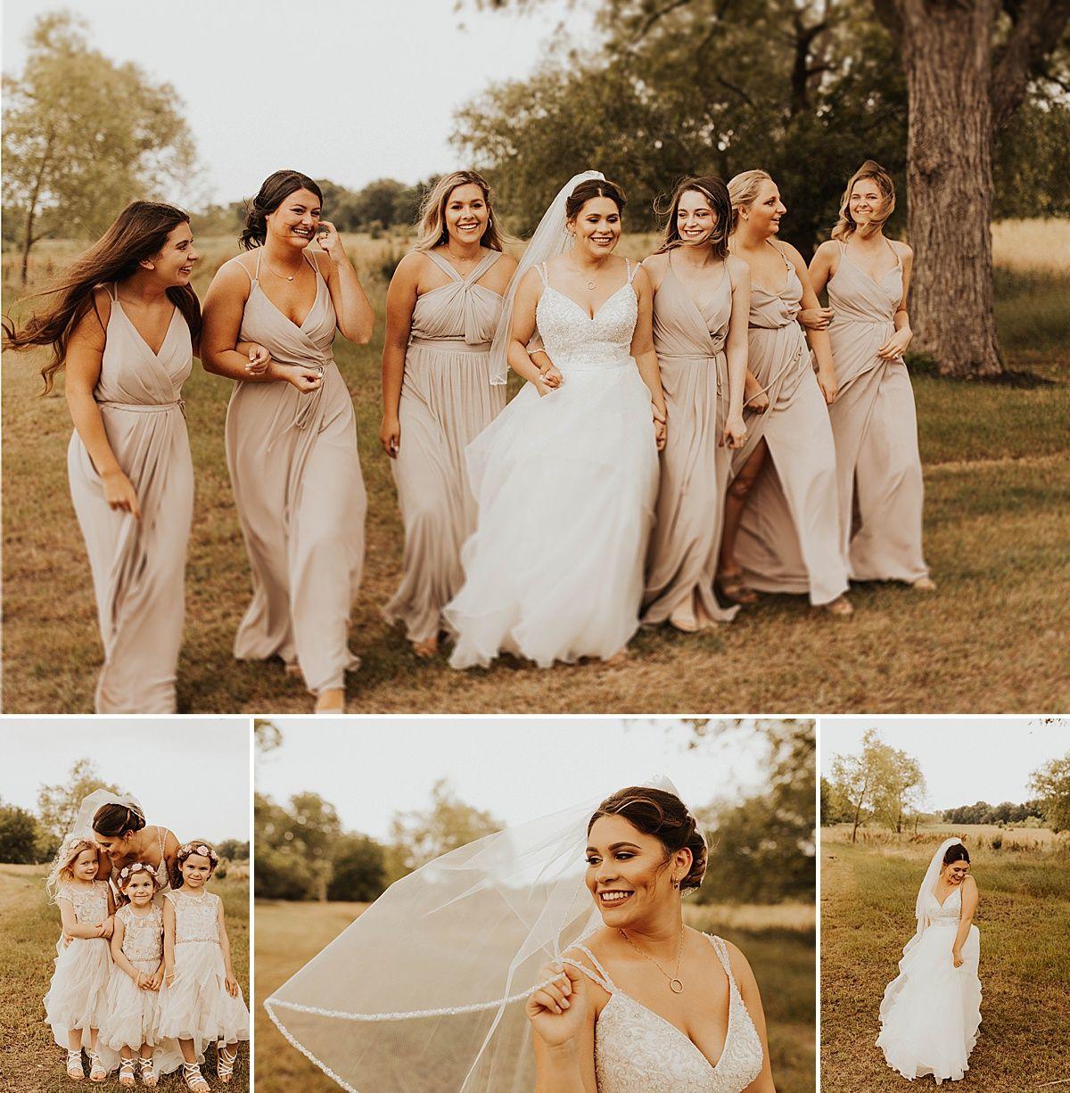Red Bird Fields Wedding Austin, TX Spring bridesmaid