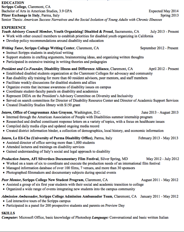 sample writing tutor resume http exampleresumecv org sample