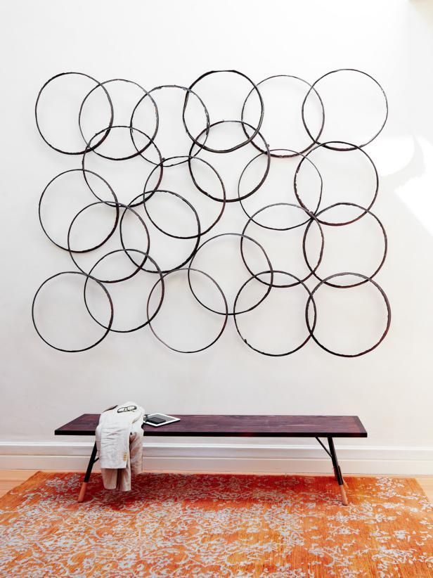 8 Great Ideas for 3-D Wall Art That Aren\'t Antlers — HGTV | 3D wall ...