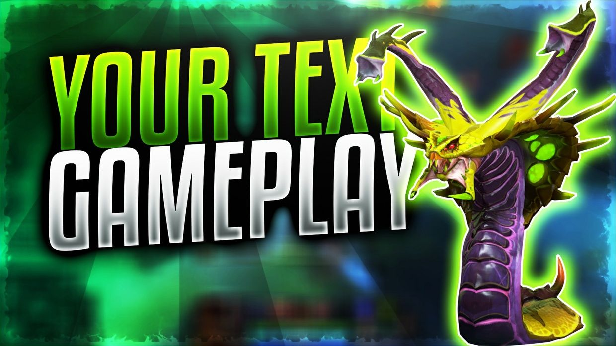 Dota 2 thumbnail template pack, affordable and great for getting the ...