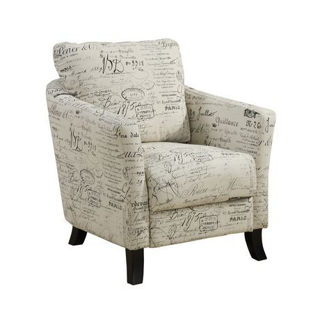 Bedroom Chair Walmart Canada Cover Rental Kuala Lumpur Monarch Specialties Inc Vintage French Fabric Accent For Sale At Find Furniture Online Less Ca
