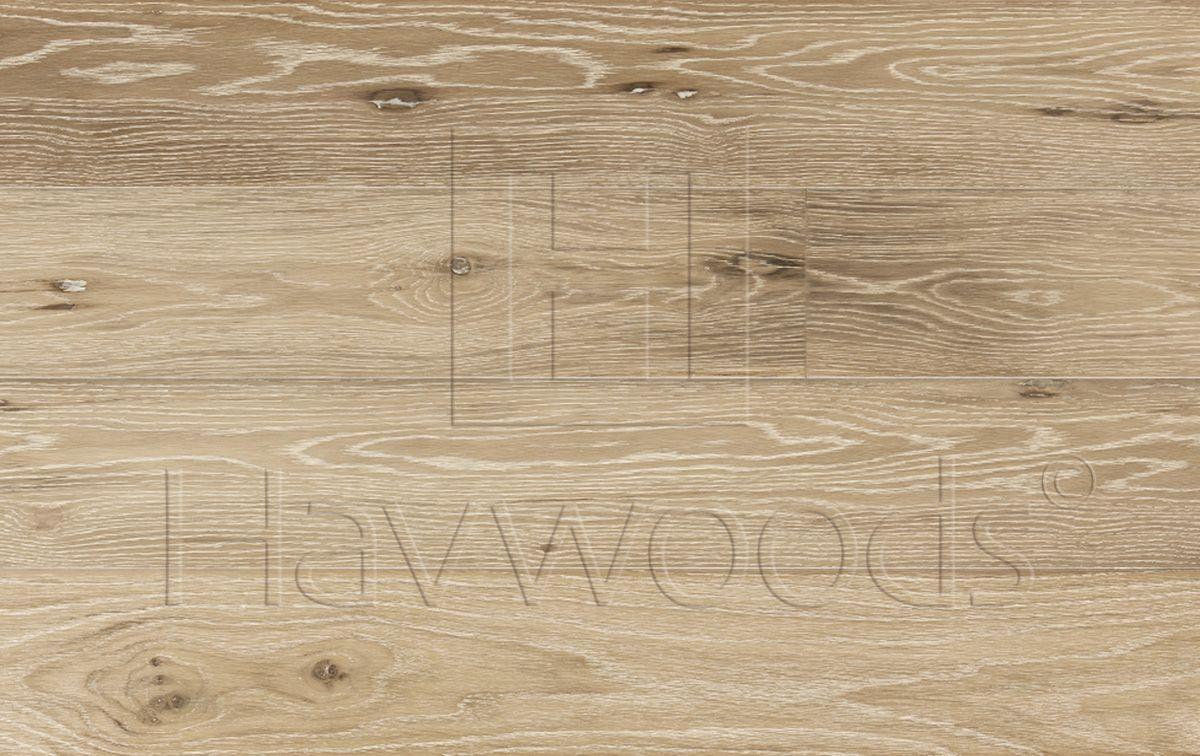 Hw661 oak chalet white engineered timber flooring used