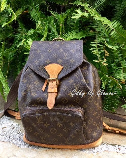 c97f2b627d Authentic Used Louis Vuitton Montsouris GM Backpack in Monogram More