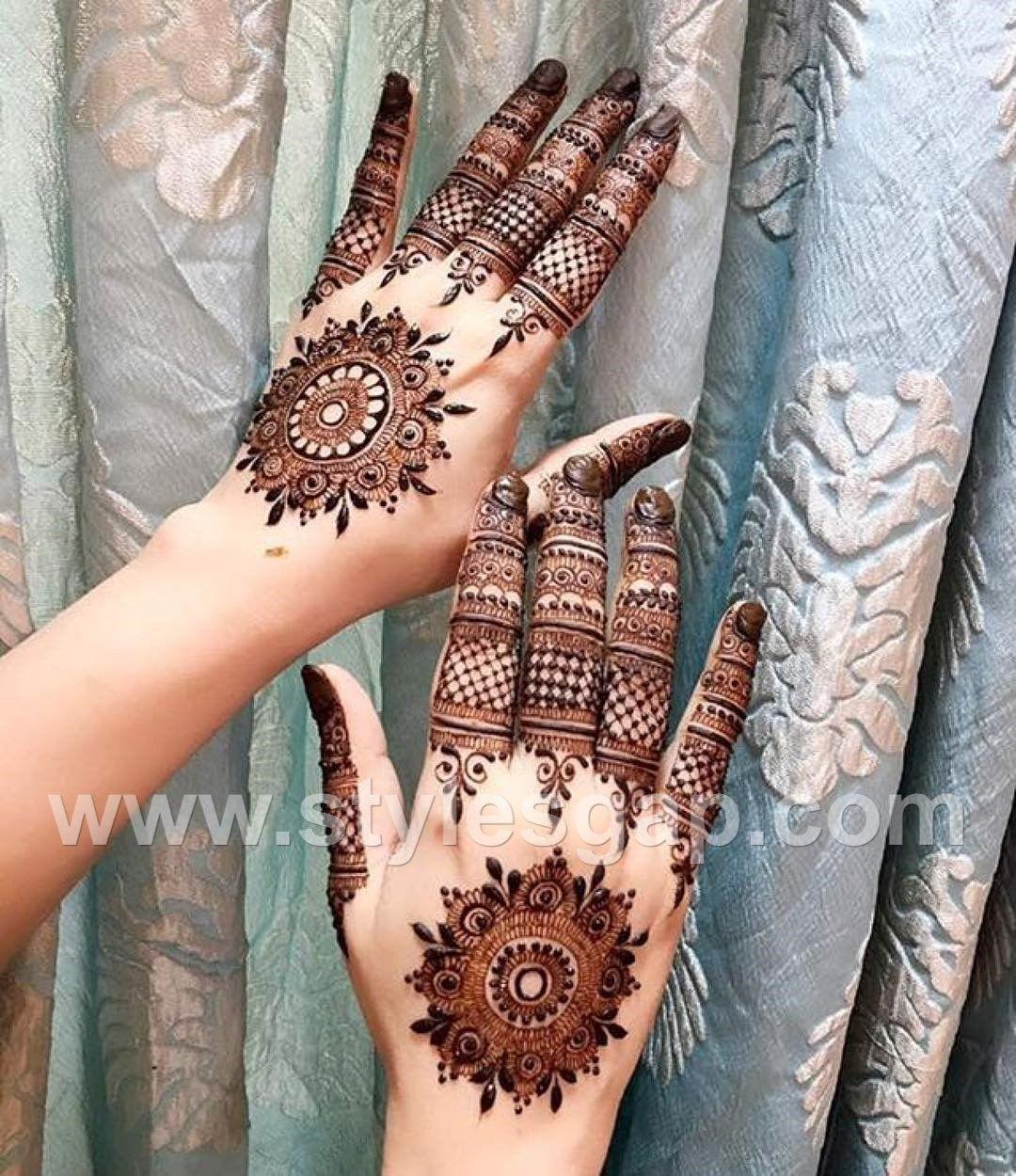 stylish mehndi new mehndi design 2021 back hand